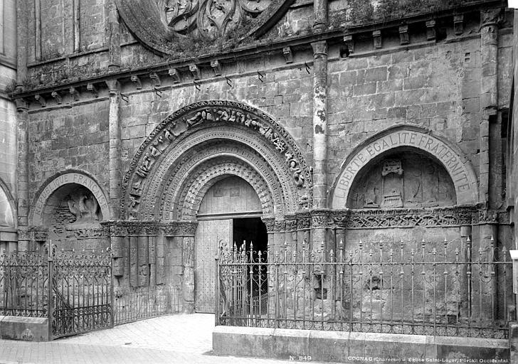 Eglise Saint-Léger Portails de la façade ouest, Mieusement, Médéric (photographe),