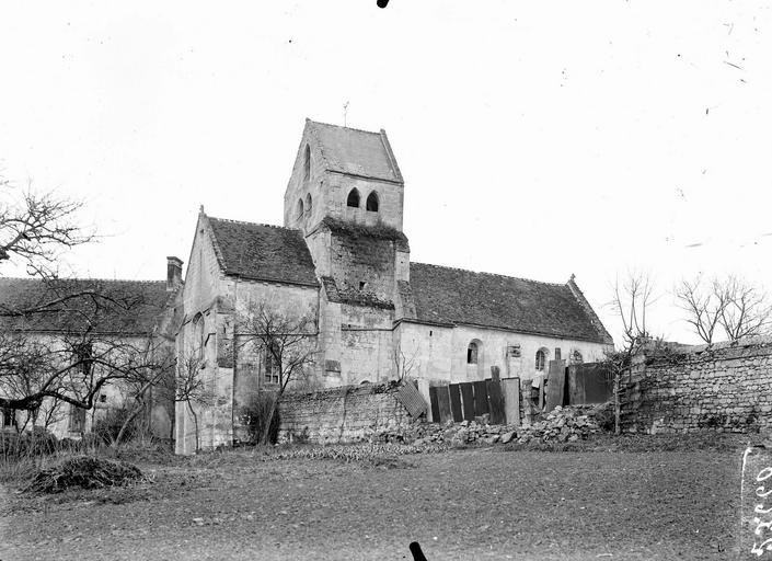 Eglise Ensemble nord-est, Service photographique,