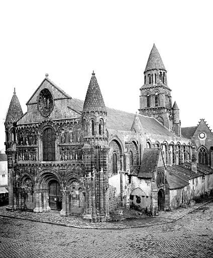 Eglise Notre-Dame-la-Grande Ensemble nord-ouest, Mieusement, Médéric (photographe),