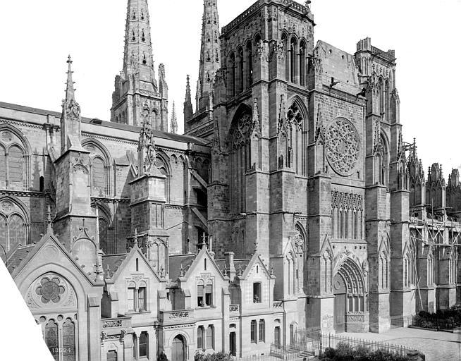 Cathédrale Saint-André Façade sud : partie centrale, Mieusement, Médéric (photographe),