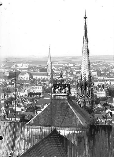 Cathédrale Notre-Dame Carillon et clocher à l'Ange, Lajoie, Abel,