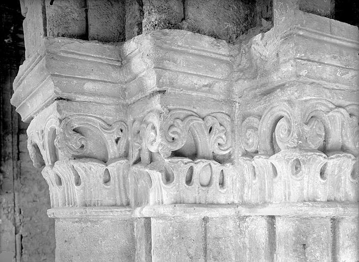 Chapelle Saint-Evremond Chapiteaux, Durand, Jean-Eugène (photographe),