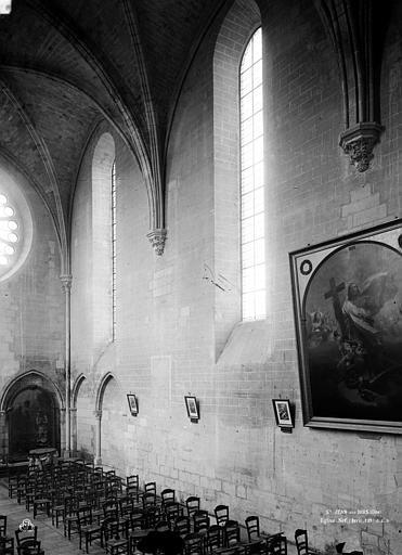 Eglise Nef, partie, Durand, Eugène (photographe),