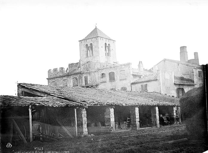 Abbaye de Saint-Ruff (ancienne) Façade ouest, Mieusement, Médéric (photographe),
