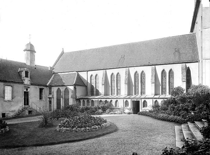 Séminaire (ancien) Chapelle : Façade sud sur le jardin, Durand, Jean-Eugène (photographe),