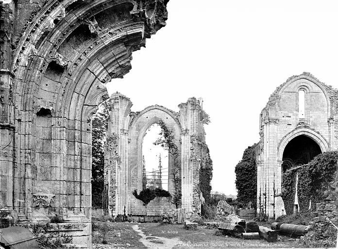 Abbaye (ancienne) Vue intérieure de la nef vers le chœur (ruines), Mieusement, Médéric (photographe),