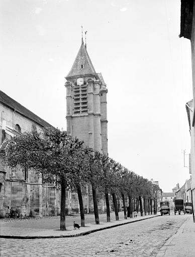 Eglise Clocher, Chaine, Henri (architecte),