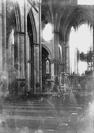 Cathédrale Saint-Etienne (ancienne) Nef, Durand, Georges (photographe à Amiens),