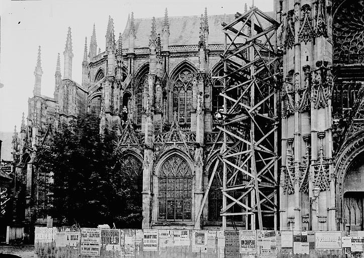 Cathédrale Notre-Dame Abside au nord, Enlart, Camille (historien),