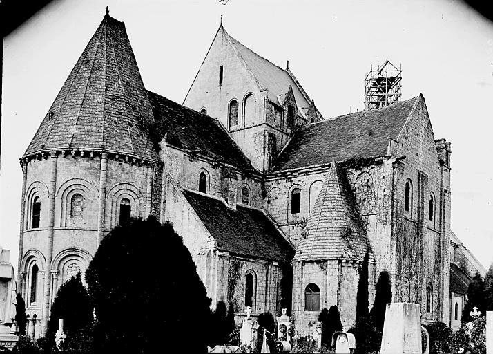 Eglise Saint-Nicolas Ensemble nord-est, Enlart, Camille (historien),