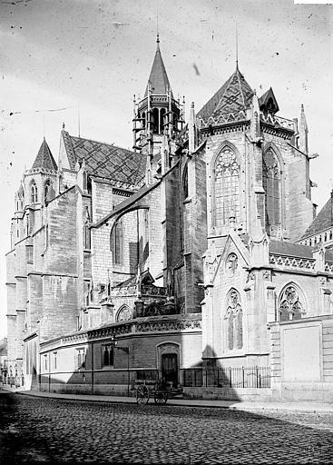 Cathédrale Saint-Bénigne Ensemble sud-est, Enlart, Camille (historien),