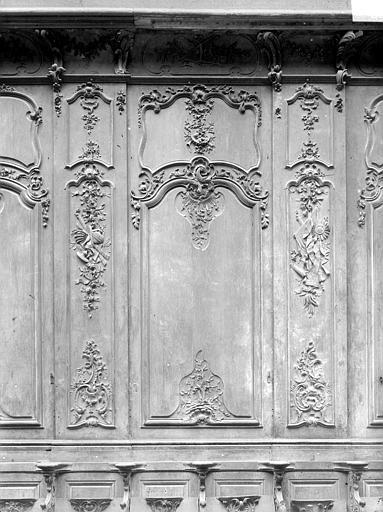 Cathédrale Notre-Dame-de-l'Assomption Stalles, huitième panneau, Heuzé, Henri (photographe),