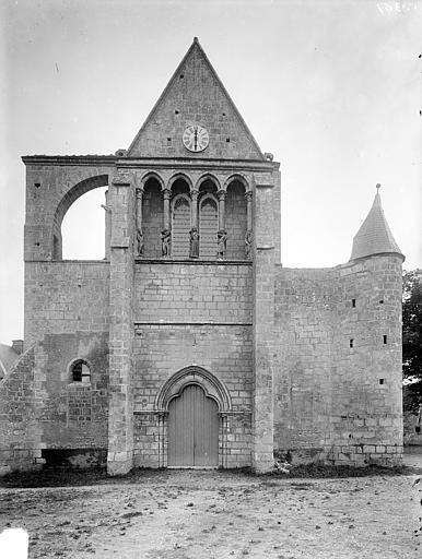 Eglise Ensemble ouest, Heuzé, Henri (photographe),
