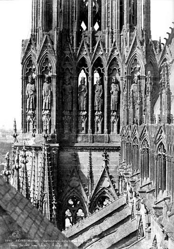 Cathédrale Notre-Dame Tour sud : partie haute, Le Secq, Henri (photographe),