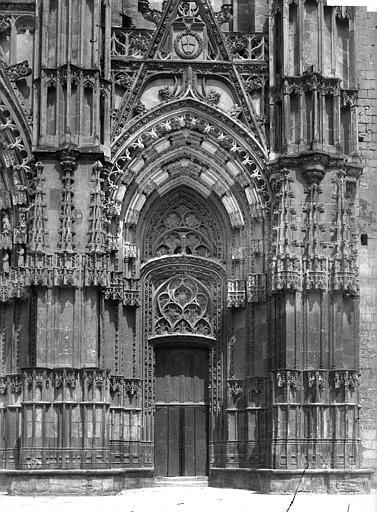 Cathédrale Saint-Gatien Portail sud de la façade ouest, Mieusement, Médéric (photographe),