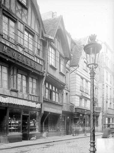Maison Façade sur rue, Heuzé, Henri (photographe),