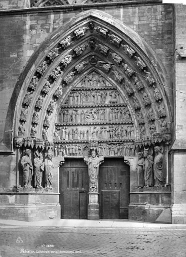 Cathédrale Notre-Dame Portail central du transept nord, Mieusement, Médéric (photographe),