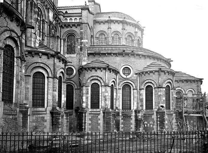 Eglise Saint-Sernin Abside, côté sud, Mieusement, Médéric (photographe),