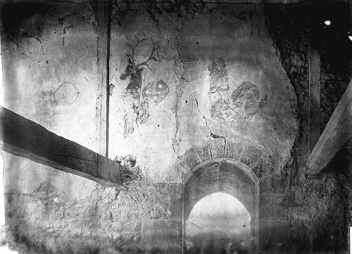 Maison Peintures murales, Enlart, Camille (historien),
