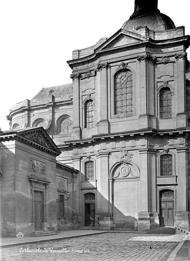 Cathédrale Saint-Louis Façade est : Transept, Mieusement, Médéric (photographe),