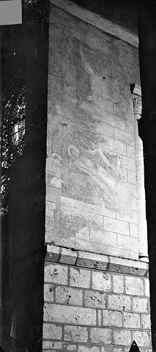Eglise Saint-Hilaire-le-Grand Peintures murales (restes), Gossin (photographe),