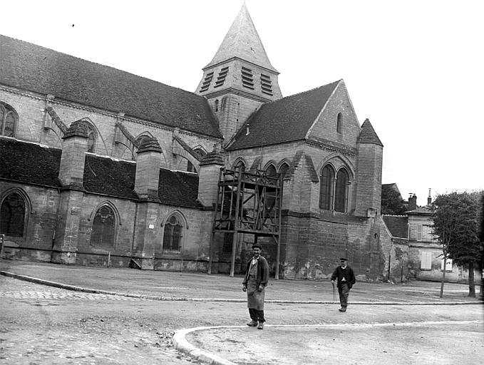 Eglise Façade sud, Chaine, Henri (architecte),