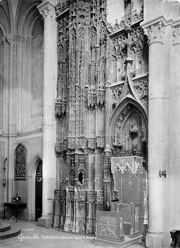 Cathédrale Notre-Dame Ciborium dans le choeur, Mieusement, Médéric (photographe),