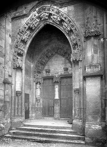 Eglise Notre-Dame Portail de la façade nord, Mieusement, Médéric (photographe),