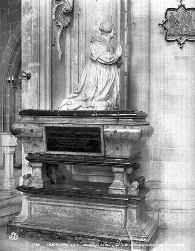 Cathédrale Saint-Bénigne Mausolée de Marguerite Brulart, Neurdein (frères) ; Neurdein, Louis ; Neurdein, Louis (photographe),