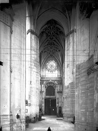 Eglise Saint-Gervais-Saint-Protais Bras nord du transept, Gossin (photographe),