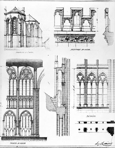 Cathédrale Saint-Pierre Dessin, Durand, Eugène (photographe), 75 ; Paris ; Médiathèque de l'Architecture et du Patrimoine