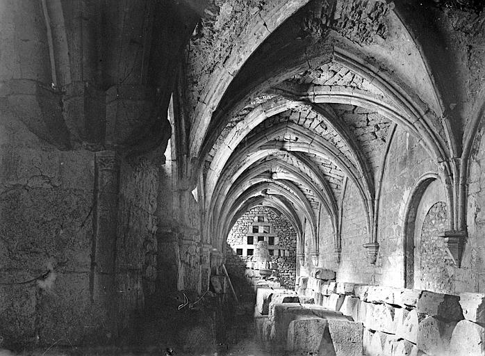 Cloître de Saint-Front Galerie: intérieur, Enlart, Camille (historien),