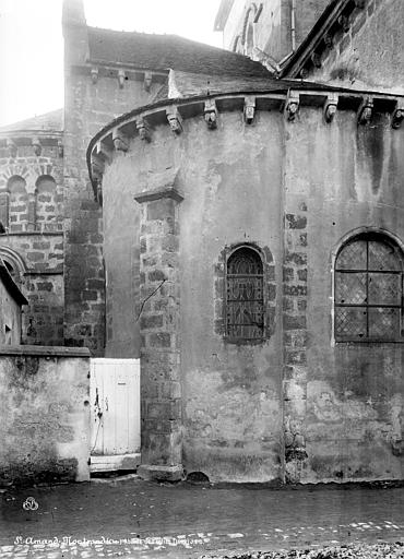 Eglise Abside, Durand, Eugène (photographe),