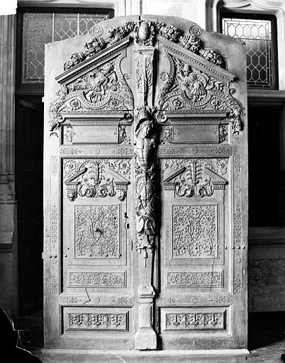 Palais de Justice Vantaux, Delaunay (photographe), 21 ; Dijon ; Musée des Beaux-Arts (original déposé)