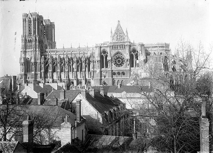 Cathédrale Notre-Dame Ensemble sud, Sainsaulieu, Max (photographe),