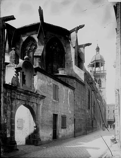 Eglise Abside, Enlart, Camille (historien),
