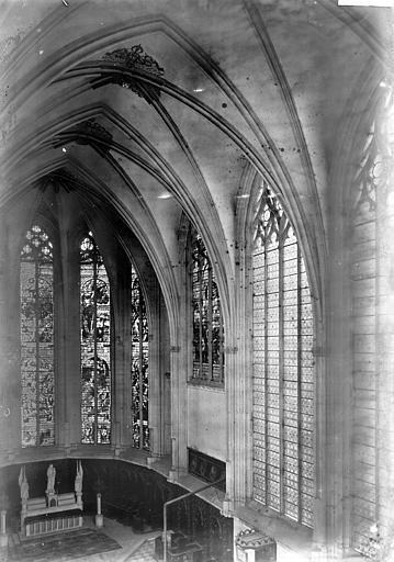 Chapelle Nef, partie haute, Enlart, Camille (historien),