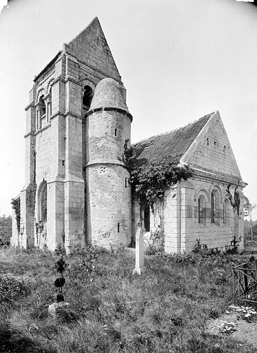 Eglise de Noël-Saint-Martin (ancienne) Ensemble sud-est, Durand, Eugène (photographe),