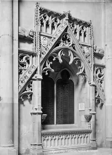 Cathédrale Notre-Dame Tombeau des Evêques, Mieusement, Médéric (photographe),