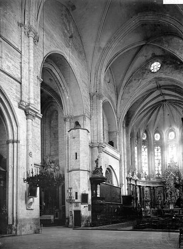 Cathédrale Saint-Nazaire Choeur et croisée du transept, Enlart, Camille (historien),