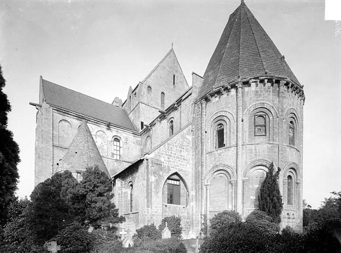 Eglise Saint-Nicolas (ancienne) Ensemble sud-est, Heuzé, Henri (photographe),