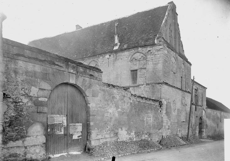 Manoir de Saint-Paterne (ancien) Façade, extérieur, Service photographique,