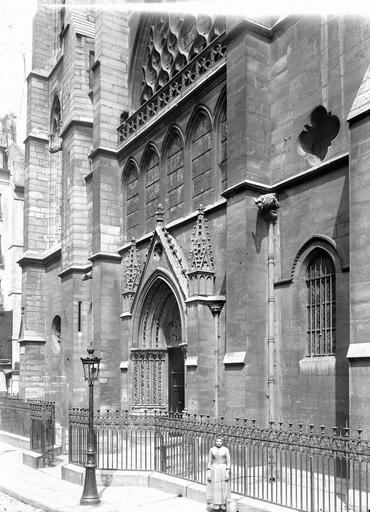 Eglise Saint-Séverin Façade ouest, Durand, Eugène (photographe),