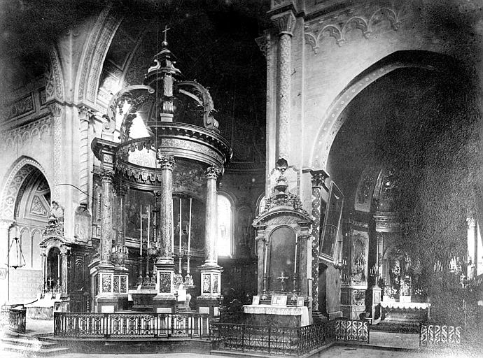 Cathédrale Notre-Dame-de-la-Sède Vue intérieure du choeur et de la chapelle absidale sud, Mieusement, Médéric (photographe),