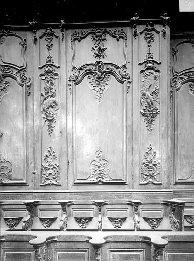 Cathédrale Notre-Dame-de-l'Assomption Stalles, septième panneau, Heuzé, Henri (photographe),