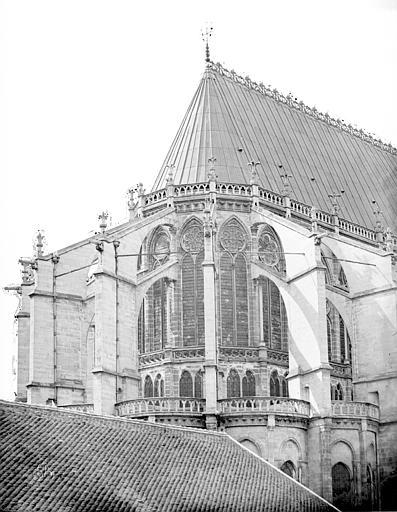 Basilique Saint-Denis Abside ensemble, Durand, Eugène (photographe),