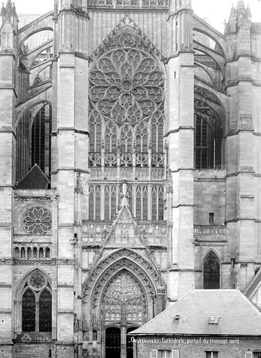 Cathédrale Saint-Pierre Transept nord, Mieusement, Médéric (photographe),