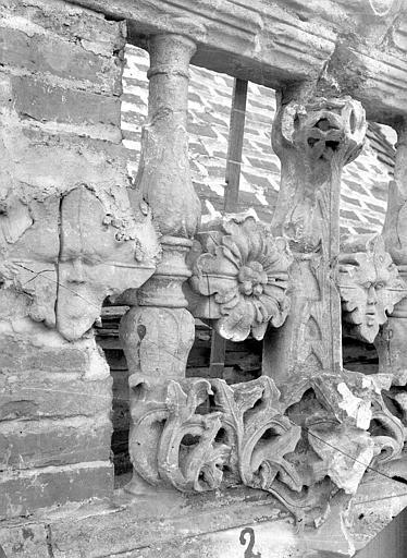 Eglise Saint-Pierre Balustrade, Durand, Jean-Eugène (photographe),