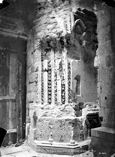 Basilique Saint-Denis Portail de la façade sud : ébrasement droit, Mieusement, Médéric (photographe),