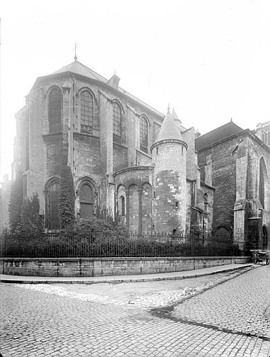 Cathédrale Saint-Vincent (ancienne) Angle nord-est, Heuzé, Henri (photographe),
